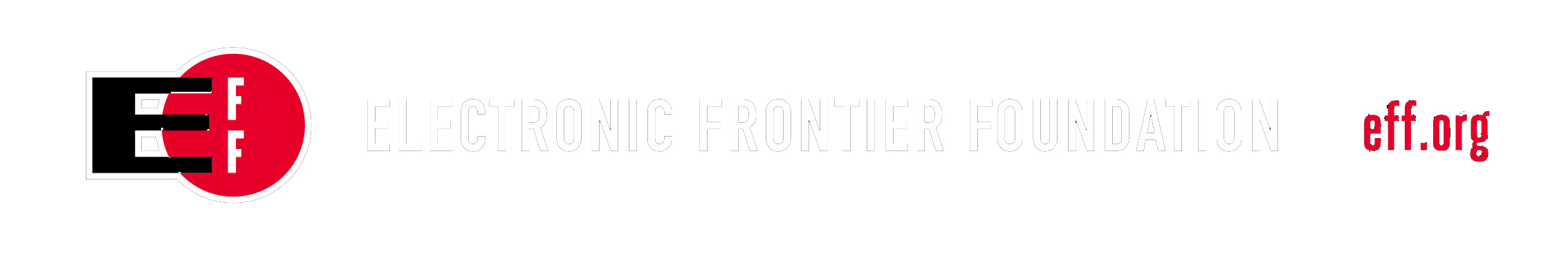 We support the Electronic Frontier Foundation!